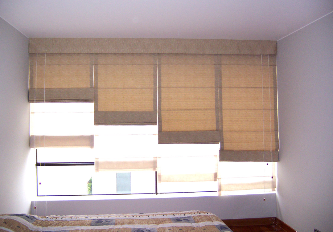 Cortinas y estores alutherm for Estores de madera
